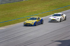 Cup-Rennen Aston-Martin Asien Stockfotografie