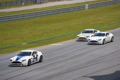 Cup-Rennen Aston-Martin Asien Stockbilder