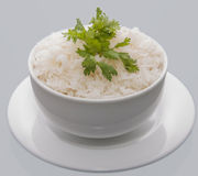 Cup of rice Royalty Free Stock Images