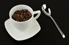 Cup of roasted coffee Royalty Free Stock Image