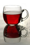 Cup of roibos fruit tea Royalty Free Stock Photography