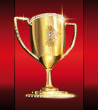 Cup of royal games and world championship. S Royalty Free Stock Photography