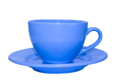 Cup with saucer Royalty Free Stock Photos