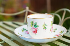 Cup & Saucer royalty free stock images