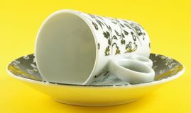 Cup with saucer Stock Photography