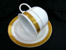 Cup and Saucer Stock Photos