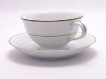 Cup and Saucer 2 Stock Photo