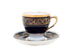Cup on a saucer Royalty Free Stock Photos