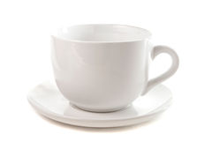 Cup with saucer Stock Photos