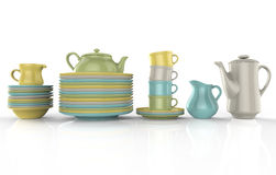 Cup and saucer Stock Images