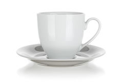 Cup and saucer isolated Stock Photo