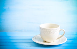 Cup and saucer Stock Image