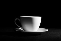 The Cup and saucer. Royalty Free Stock Photography