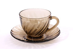Cup and saucer tea. Stock Images