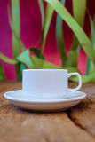 Cup with saucer Royalty Free Stock Photography