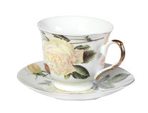 Cup and saucer Stock Photography