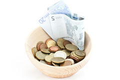 A cup of savings Royalty Free Stock Photo