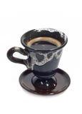 Cup schwarzer Kaffee Stockfotos