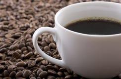 Cup schwarzer Kaffee Lizenzfreie Stockfotografie
