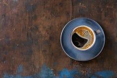 Cup schwarzer Kaffee Lizenzfreie Stockfotos
