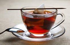 Cup schwarzer Tee Lizenzfreies Stockbild