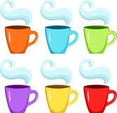 Cup set Stock Photo