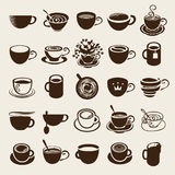 Cup set Stock Image