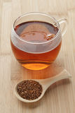 Cup with South African Rooibos tea Stock Photos