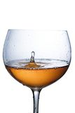 Cup of sparkling wine Stock Image