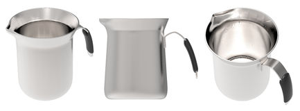 Cup of steel Royalty Free Stock Image