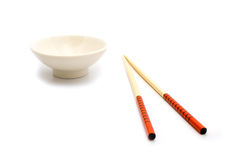 Cup and sticks for a meal Royalty Free Stock Image