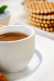 Cup of strong espresso coffee Royalty Free Stock Photography