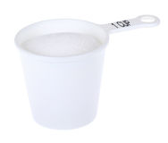 Cup of Sugar Stock Photography