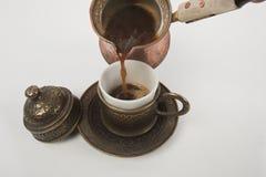 Cup türkischer Kaffee Lizenzfreie Stockfotografie
