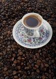 Cup türkischer Kaffee Stockfotografie