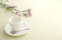 Cup on table Stock Photography