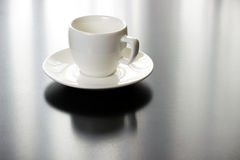 Cup on table Stock Photos