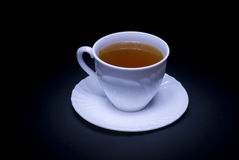 Cup of tea. A cup of black tea Royalty Free Stock Photography