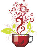 Cup of Tea. In Vector format Stock Images