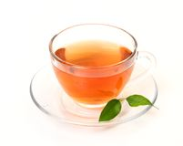 Cup with tea Stock Photos
