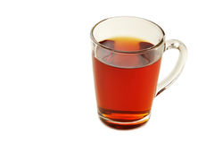 Cup of tea. Isolated on a white background Stock Photography