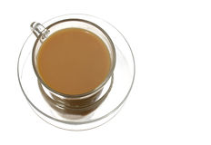 Cup of Tea. Tea with milk isolated Stock Photo