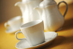 Cup of tea. Soft focus royalty free stock photography