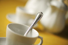 Cup of tea. Soft focus stock images