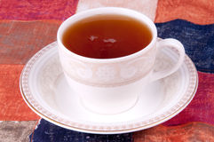 Cup of tea. A cup of hot green tea Stock Image