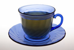 Cup of tea. Isolated on white. Clipping path incl Royalty Free Stock Photos