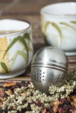 Cup of Tea. A Cup of Tea on a table Stock Photos