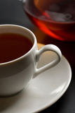 Cup of tea. And teapot Royalty Free Stock Photo