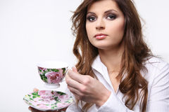 Cup of tea. Royalty Free Stock Photo