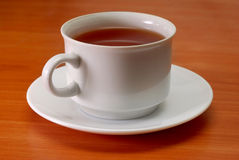 Cup of tea. On the table royalty free stock photos